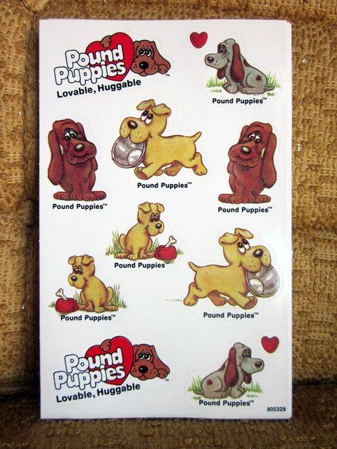 Pound Puppies Stickers