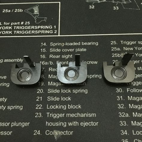 glock full auto conversion blueprints | Conversion Part
