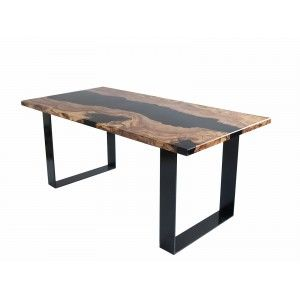 French Wood Works Table Design Sur Mesure Meuble En Bois Table Bois Table Design Table Metal Bois