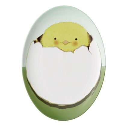 Easter chick porcelain serving platter shower gifts diy easter chick porcelain serving platter shower gifts diy customize creative negle Image collections