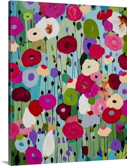 Great Big Canvas Making Wishes Carrie Schmitt Painting Print Canvas Wall Art Canvas Art Stretched Canvas Prints