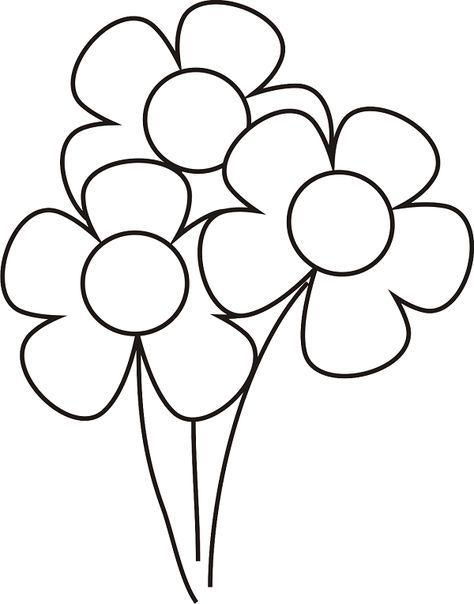 Blumen Bilder Malvorlagen