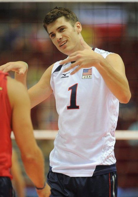 Matt Anderson is on the USA volleyball team in London and has played professionally in Korea and Italy.