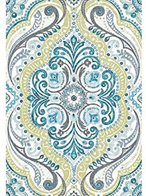 Roommates Bohemian Damask Green Amp Blue Peel And Stick Wallpaper Removable Wallpaper Peel And Stick Wallpaper Self Adhesive Wallpaper Removable Wallpaper
