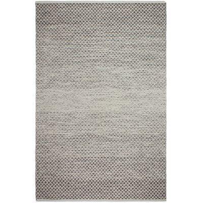 Hand Woven Wool Grey Rug Area Rugs