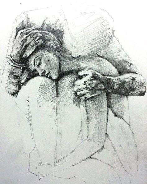 Скучаю картинки карандашом