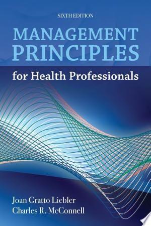 Download Management Principles For Health Professionals Pdf Free Health Professionals Medical Identity Healthcare Management