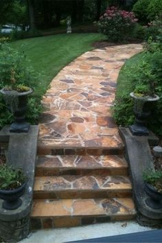25 Best Flagstone Steps Images On Pinterest   Flagstone, Paving Stones And  Stairs.