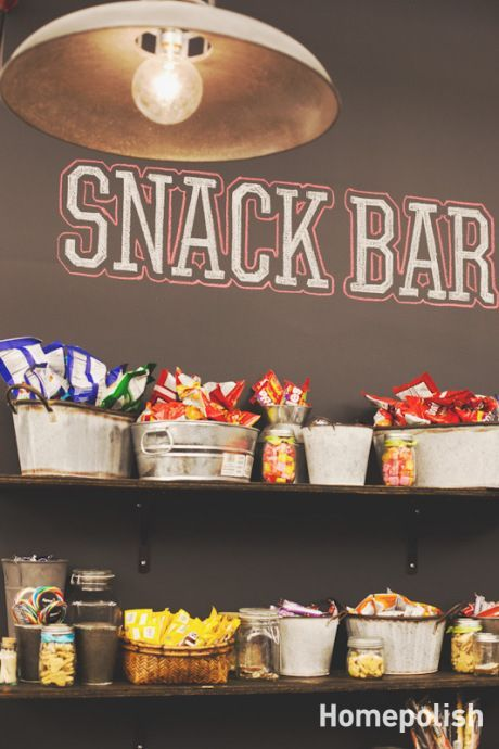 Every man cave definitely needs a snack bar! Click the pin to see 10 other essen… Every man cave definitely needs a snack bar! Click the pin to see 10 other essential items for your manly space. Deco Cinema, Cinema Room, Unique Man Cave Ideas, Vintage Man Cave Ideas, Youth Group Rooms, Youth Groups, Youth Ministry Room, Ultimate Man Cave, Home Theater Rooms