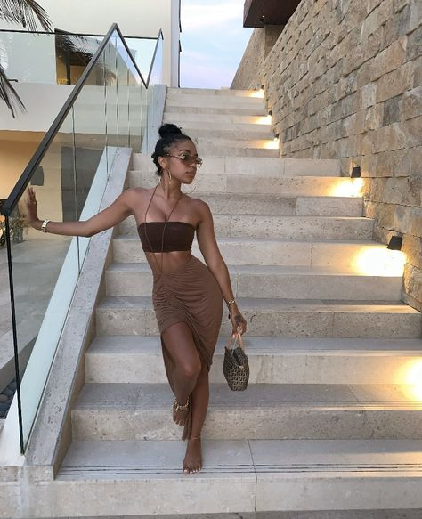Cancun Outfits, Outfits For Mexico, Miami Outfits, Holiday Outfits, Summer Outfits, Girl Outfits, Fashion Outfits, Black Girl Fashion, Look Fashion