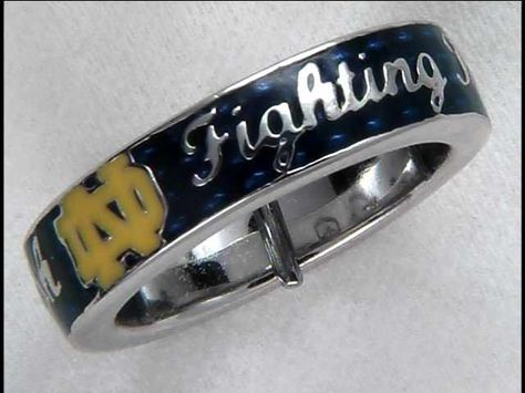 Notre Dame Blue Spirit Ring