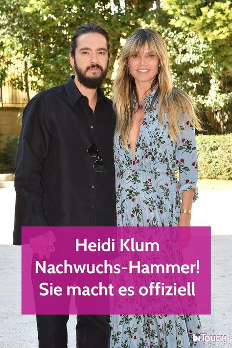 Nachwuchs-Hammer bei Heidi Klum! Sie hat es selbst bestätigt! #heidiklum #tomkaulitz #stars #news #promis