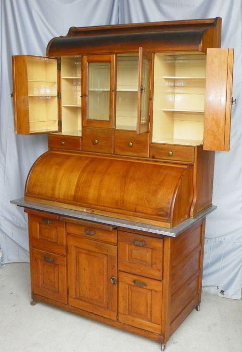 Antique Bakers Cabinet-Hoosier Co