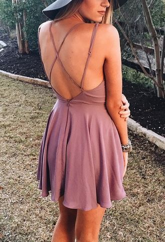 3759eafdbb Sparkle   Fade Strappy Chiffon Skater Dress at Urban Outfitters - Trendslove
