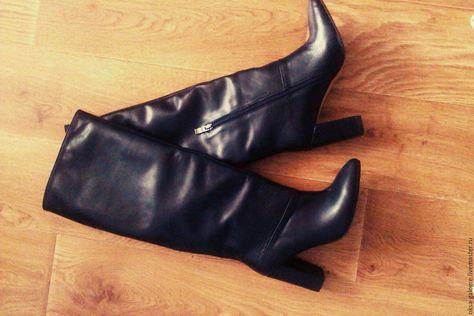 eca3e3cc1123 Купить зимние сапоги - черный, зимние сапоги, обувь на заказ, обувь ручной  работы