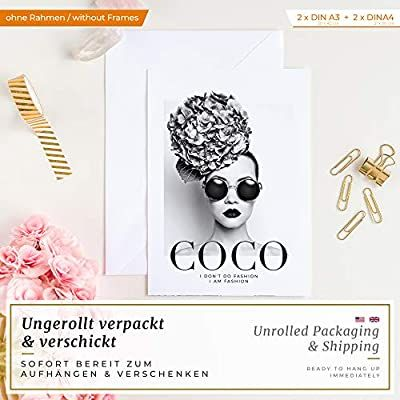 Heimlich Premium Poster Set Stilvolles Set Mit Passenden Bilder