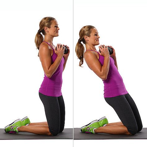 22 Ways to Work Your Abs Without Crunches-this move is honestly KILLER