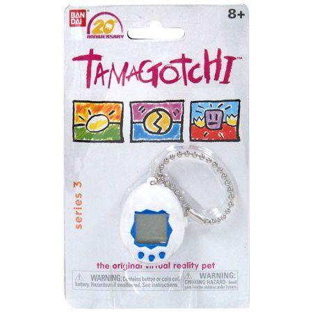 Tamagotchi 20th Anniversary Series 3 White Virtual Pet Toy Virtual Pet Pet Toys 20th Anniversary