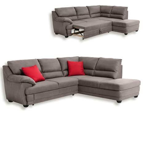 Das Ecksofa Ist Ein Gemutlicher Ruckzugsort Mit Moglicher Liegeflache Das Beigefarbene Sofa Verfugt Uber Ein Sofa Mit Relaxfunktion Couch Mobel Gunstige Sofas