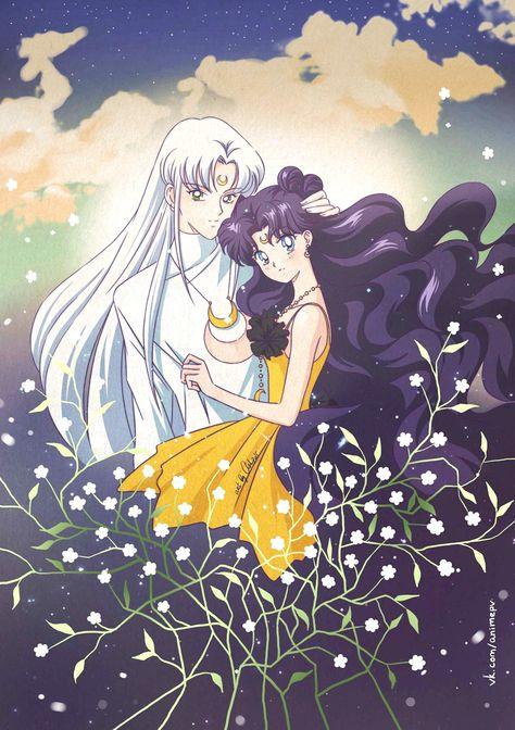 Fan Art By Ash Luna Y Artemis Humanos Sailor Moon