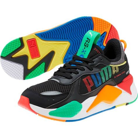 RS-X Bold Sneakers JR in 2020 | Bold shoes, Womens shoes ...