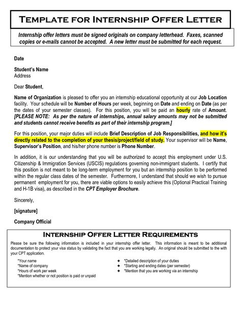 Job Appointment Letter Format In Word Image Collections  Letter