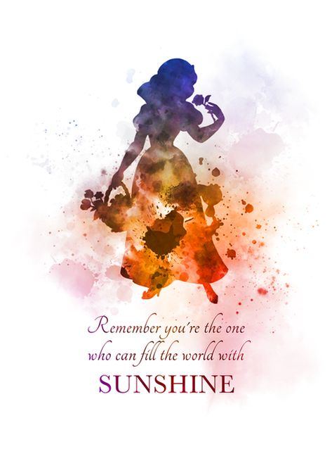 Snow White Quote ART PRINT Princess, Nursery, Gift, Wall Art, Home Decor, disney, Inspirational, quotes, Fairy Tale, Gift Ideas, Birthday, Christmas, Remember you're the one who can fill the world with sunshine #SnowWhite #Quote #ARTPRINT #Princess #Nursery #Gift #WallArt #HomeDecor #disney #Inspirational #quotes #FairyTale #GiftIdeas #Birthday #Christmas