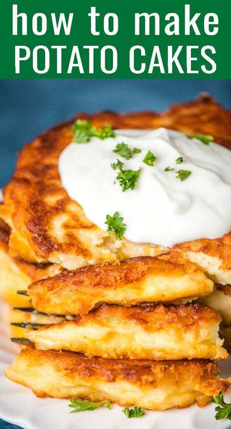 Easy Mashed Potato Cakes