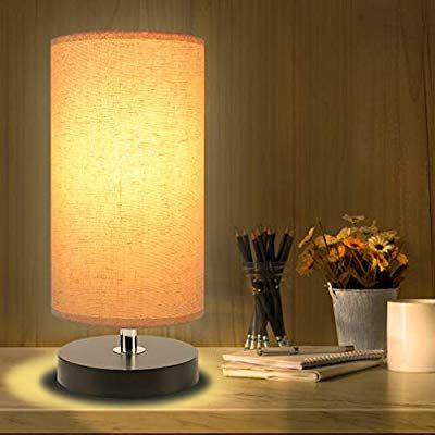 Bedside Table Lamp Aooshine Minimalist Solid Wood Table Lamp Bedside Desk Lamp Round Simple Desk Lamp Nightstand Lamp Wi Bedside Table Lamps Table Lamp Lamp