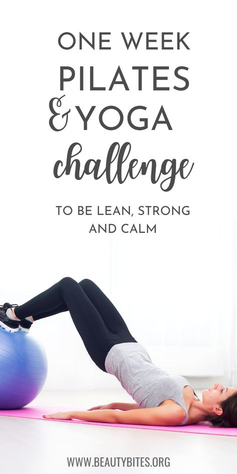 7-Day Yoga & Pilates Workout Plan - Beauty Bites