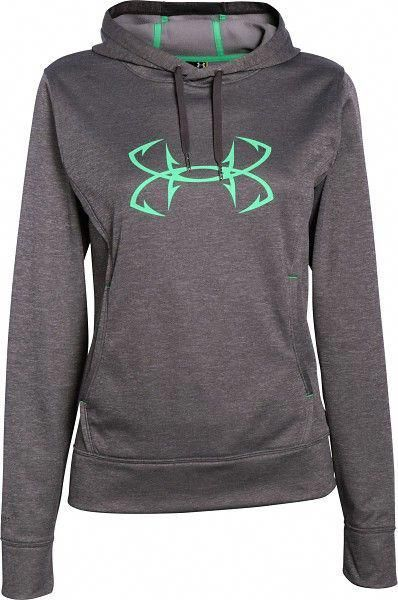 21eafea2d340 Under Armour Women s Storm Caliber Hoodie - Ivory - 1247106-130 ...