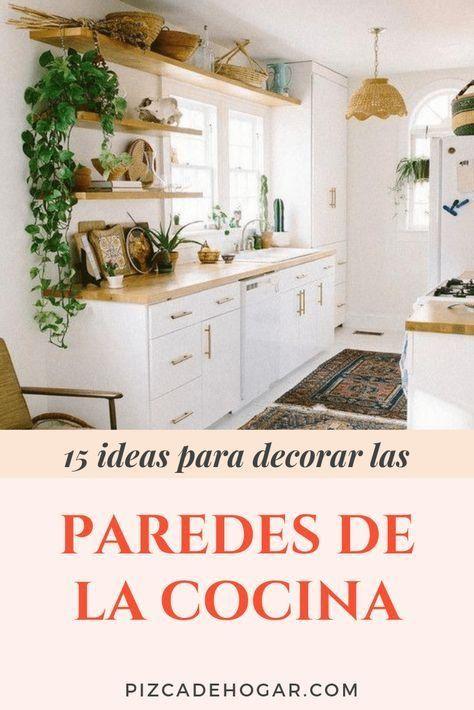 Inspirant Decoracion Paredes Cocinas Paredes De Cocina Muebles Bajos De Cocina Decoracion De Cocina Moderna