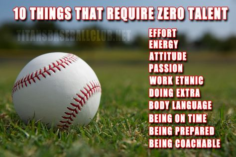 10 Things That Require Zero Talent Motivational Sports Quotes