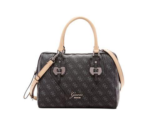 139dedaf10 GUESS Confidential Logo Box Satchel - GUESS - Handbags   Accessories -  Macy s