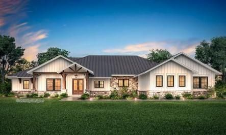22 Best Ideas For Exterior Home Modern Metal Roof Hill Country Homes Ranch House Plans Brick Exterior House