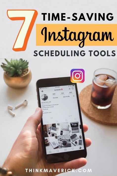 7+ Best Time-Saving Instagram Scheduling Tools [2021 Update] - ThinkMaverick - My Personal Journey through Entrepreneurship