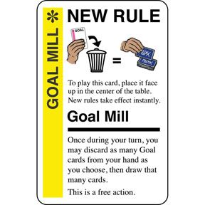 Goal Mill Fluxx Goals Cards Turn Ons