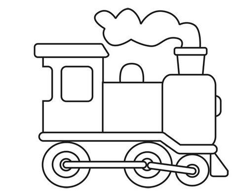 Dibujo Trencito Infantil Imagui Dibujo Tren Tren