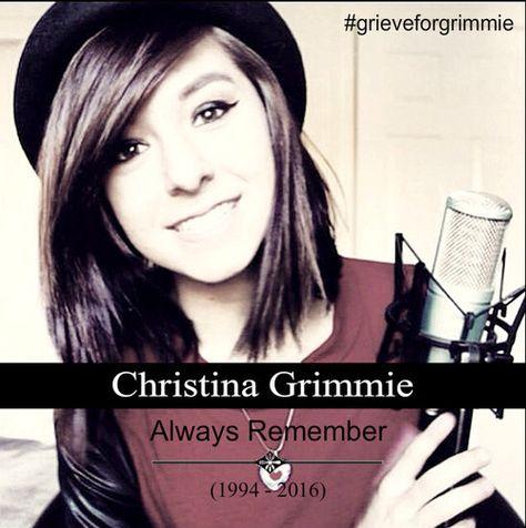 rip, christina grimmie, and grimmie Bild