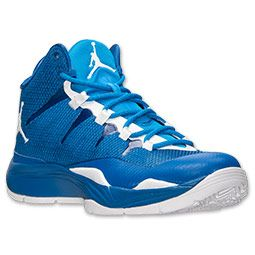air jordan azul y blanco