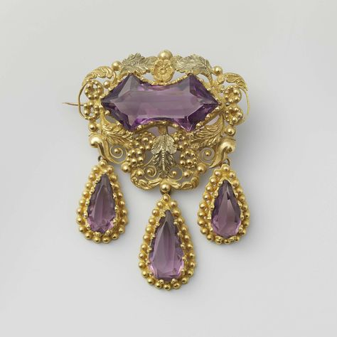 Fashion Gold vintage BROCHE PINS Argent Antique Broche Camée Strass