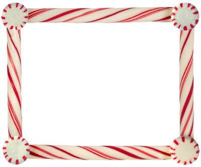 Candy cane border. Pinterest