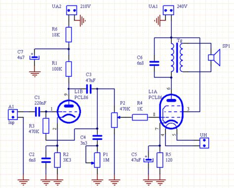 Tube Amplifier Diagram For Pinterest - Wiring Diagram DB