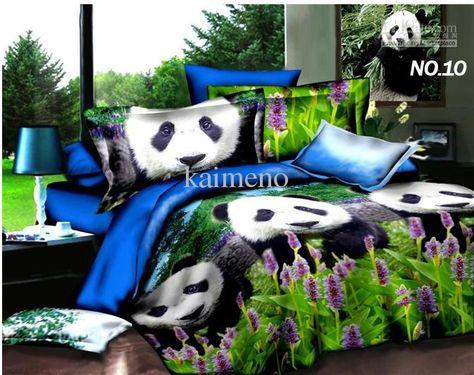 Wholesale Bed In A Bag Buy 3d Panda Bedding Set Comforter Set