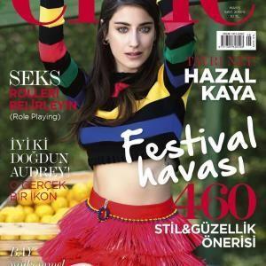 Hazal Kaya Tv Series Movies Biography Turkish Drama Kaya Magazine Cover Women