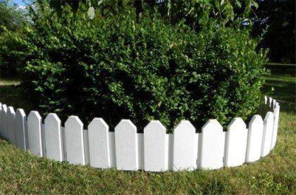 Woolux Garden Bordure De Massif Blanc 2 40 M Avec Images Bordure Jardin Bordure Jardins