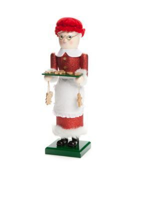 Home Accents  Holiday Traditions 14-in. Mrs. Santa Claus Nutcracker