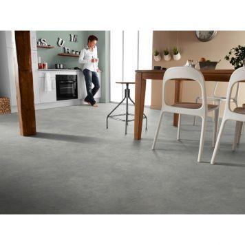 Vinylgolv Tarkett Rock Grey Black Bredd 2m Pris Per M Enkelt Att Halla Vinylgolv In 2020 Vinyl Flooring Kitchen Tarkett Vinyl Flooring Vinyl Flooring