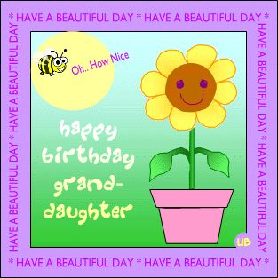 birthday quotes for granddaughters Happy Birthday Cards for