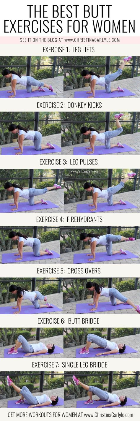 The Best Booty Building Butt Exercises that Aren't Squats